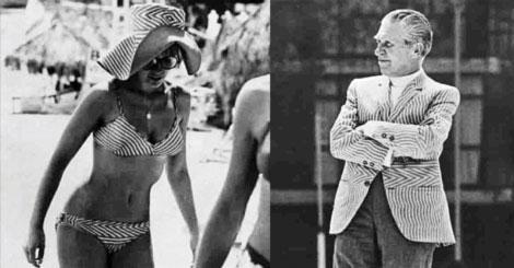 Diseño de indumentaria para los Juegos Olímpicos de México 68.