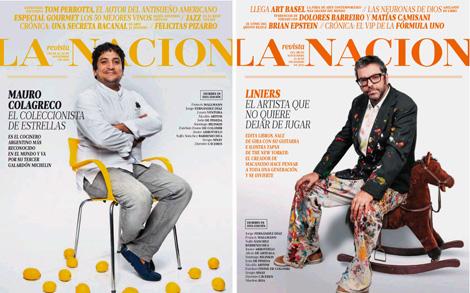Tapa de la revista dominical La Nación (rediseño y relanzamiento, 2014)