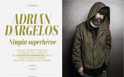 Doble página de la revista La Nación (2014)
