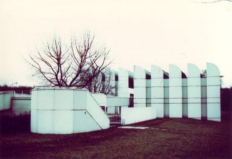 Archivo Bauhaus, Berlín, diseñado por Walter Gropius.