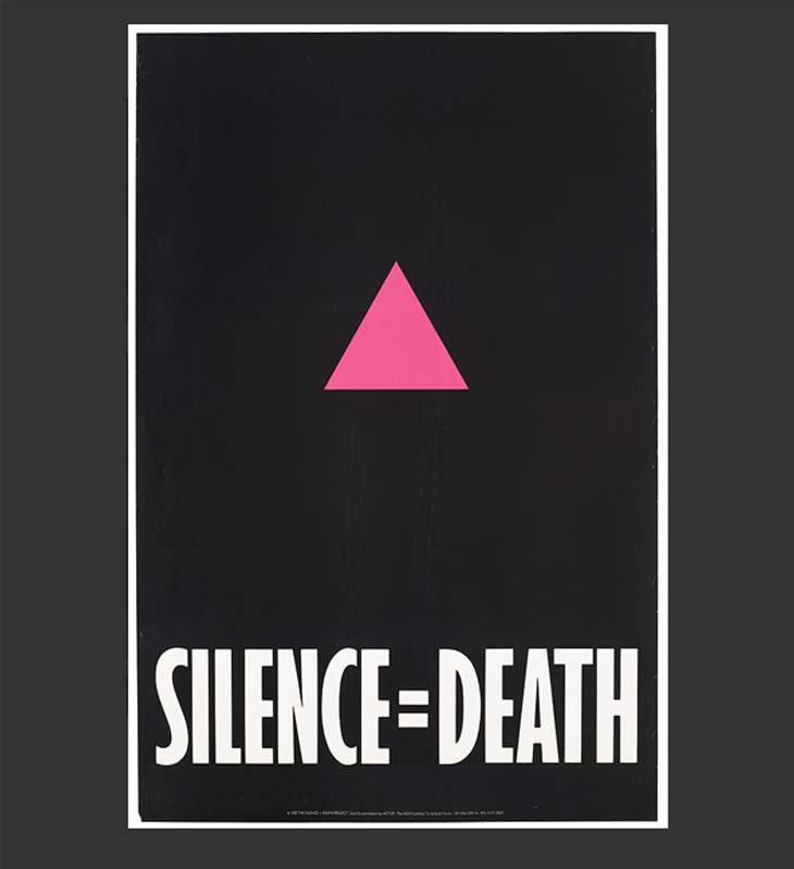 Silence=Death cartello lotta AIDS