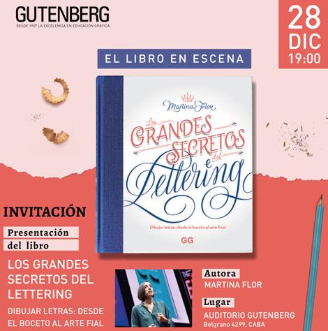 Lettering-libro