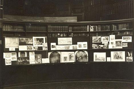 Mnemosyne-Atlas (1924-1929), Aby Warburg.