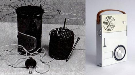 Dos aproximaciones sobre un mismo producto. ¿Dos nociones de necesidad? Radios portátiles de Papanek y Dieter Rams.