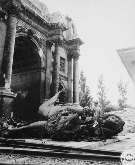 Fig. 3. Fotos de Múnich luego de la rendición alemana. © www.leemiller.co.uk