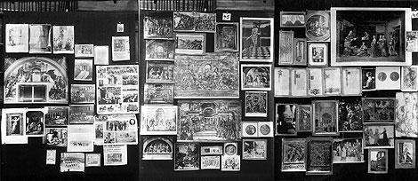 """Atlas Mnemosyne"", Aby Warburg, 1924-1929"