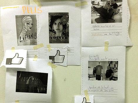 La edición fotográfica: el montaje de un Facebook analógico