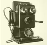 Teléfono en los años 30